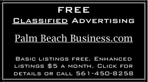 ad for free palm beach business.com classifieds